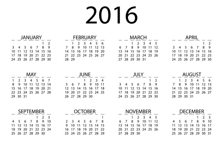 2016 Calendar Pdf | 2017 calendar with holidays