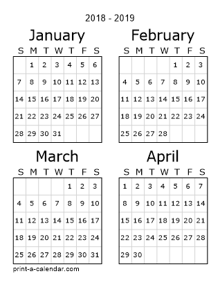Printable Calendar With Pictures February 2018 Printable Calendar