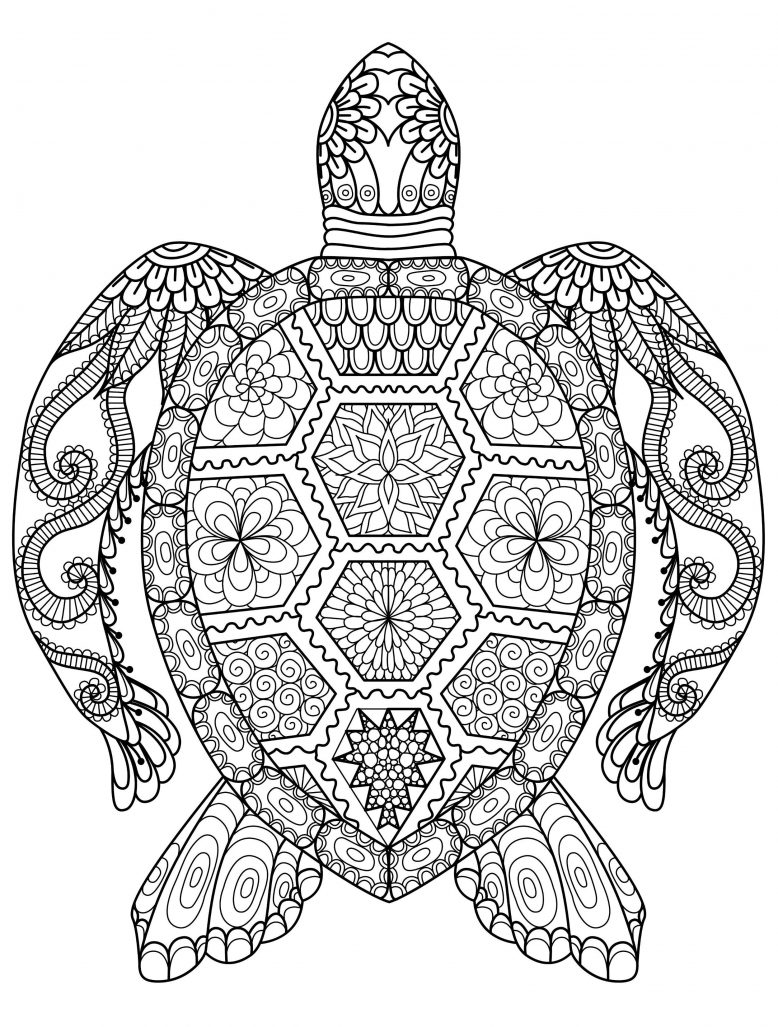 20 Gorgeous Free Printable Adult Coloring Pages … | Pinteres…
