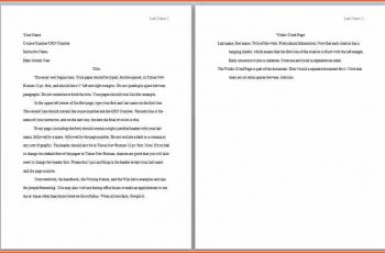 apa format example what is an apa style paper essay formatimage