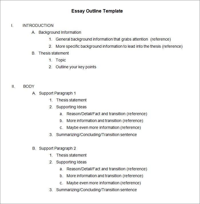 apa outline format examples Baskan.idai.co