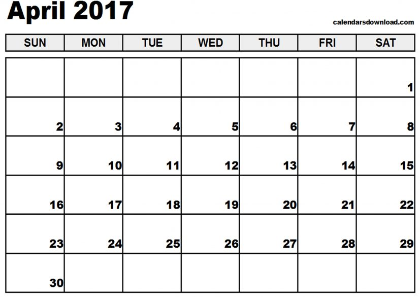 free april calendar Coles.thecolossus.co