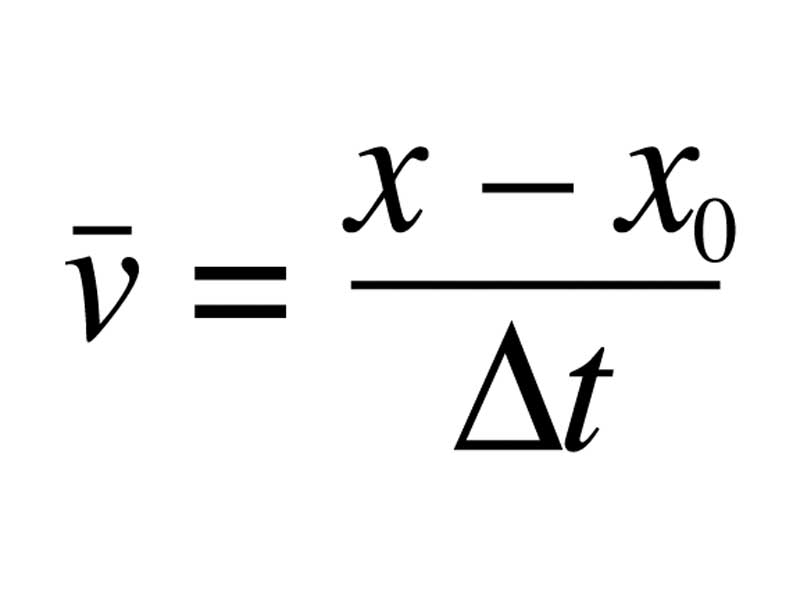 The WikiPremed MCAT Course Image Archive Formula Average velocity