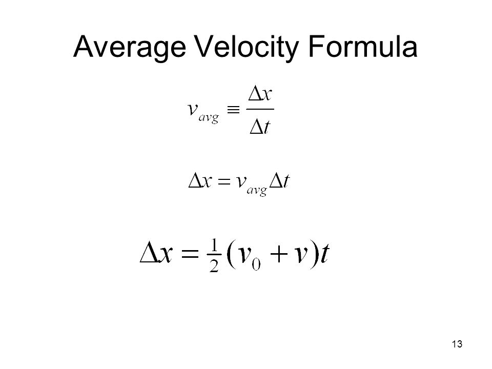 Example Problems on Average Speed and Average Velocity YouTube