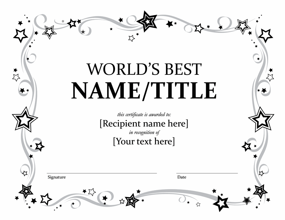 award certificate template word certificates office free gtsak.info
