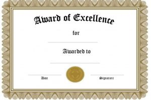award certificate template free funny award certificates templates editable award of within certificate template x