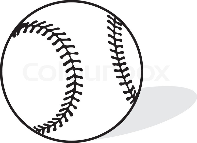 Baseball sports vector illustration | Stock Vector | Colourbox