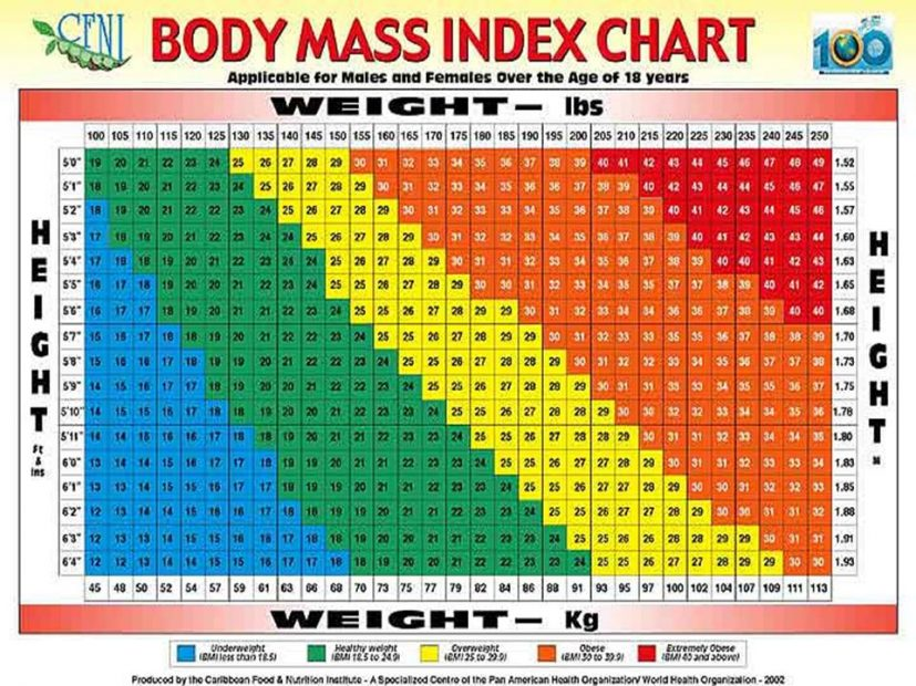 body mass index scale Coles.thecolossus.co