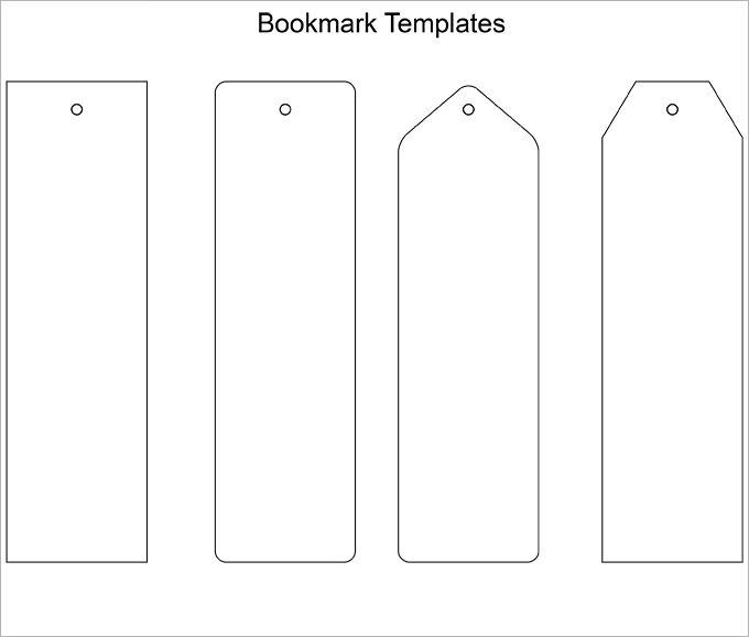 Blank Bookmark Template 135 Free Psd Ai Eps Word Pdf Format Double