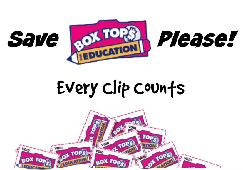 Panther Post » Box Tops for Education: Every Clip Counts!