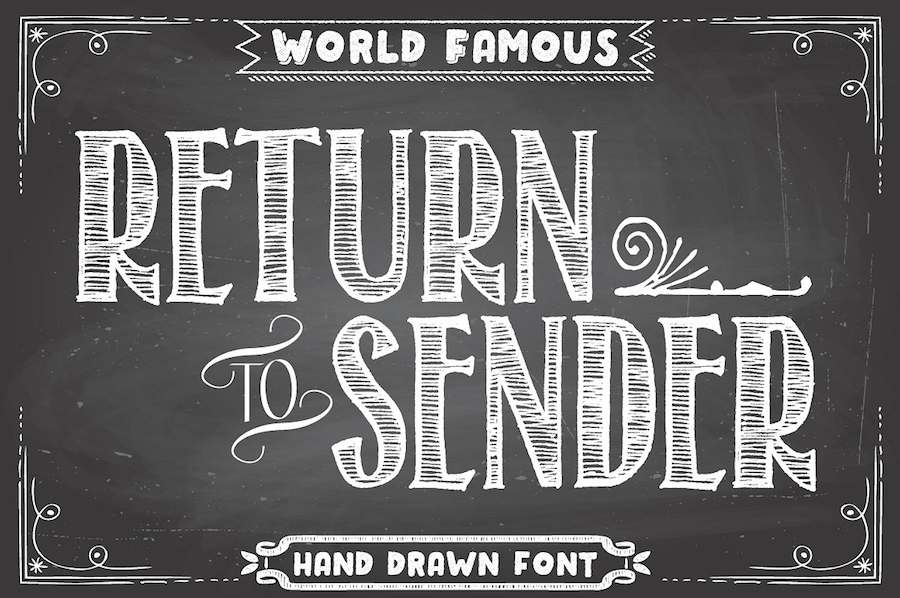 35 Free Chalk Hand Lettering Fonts | Best Choise In 2018