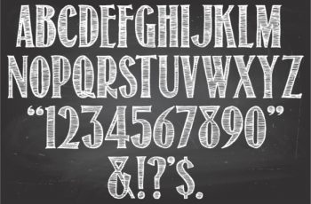 chalkboard fonts download return to sender christmas font