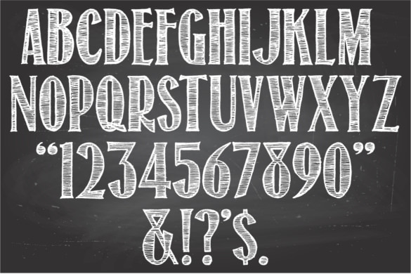 chalkboard fonts Ideal.vistalist.co