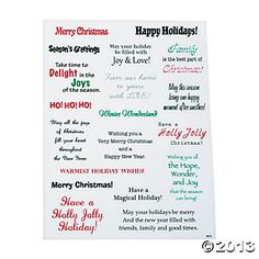 christmas card sentiments Yahoo Image Search Results | cards