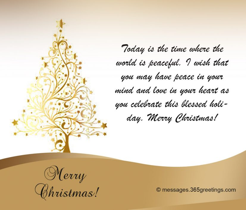 christmas card sayings verses 365greetings.com