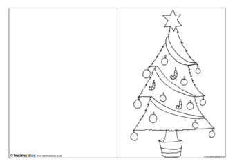 Christmas Card Templates | Teaching Ideas