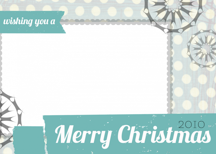 template christmas card Ideal.vistalist.co