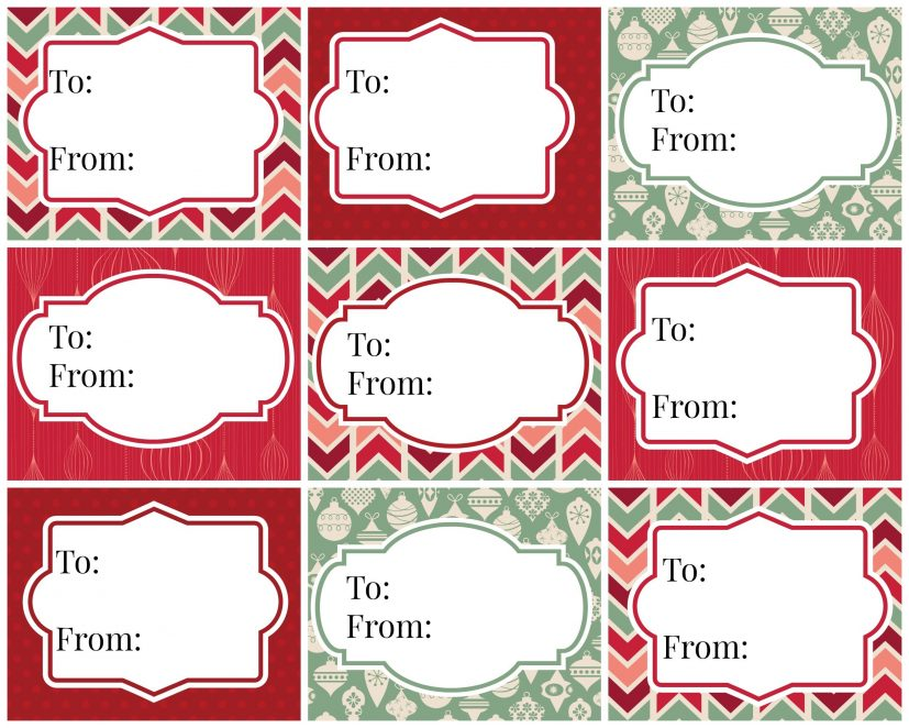 Kelli Murray | FREE PRINTABLE CHRISTMAS GIFT TAGS