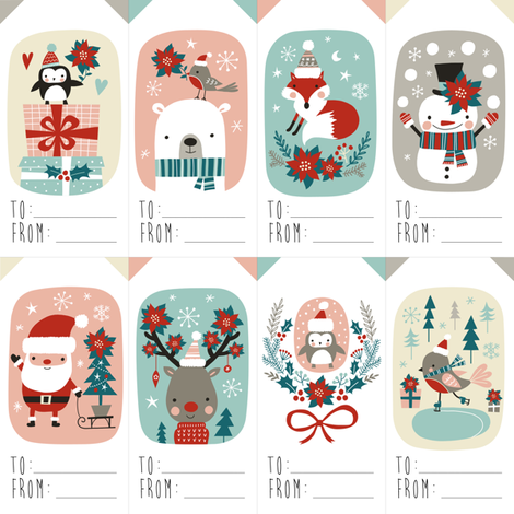 175 Free Printable Christmas Gift Tags unOriginal Mom