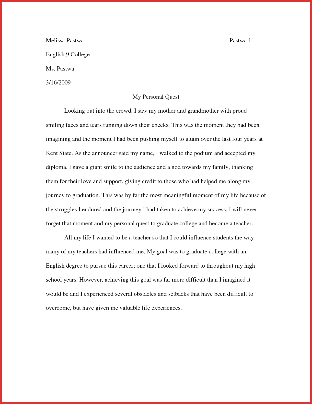 High School Essay Writing Best English Essay English Essay Story What Is A Thesis In An Proposal Argument Essay Topics also Example Essay Thesis Statement College Essay Examples My English Essay