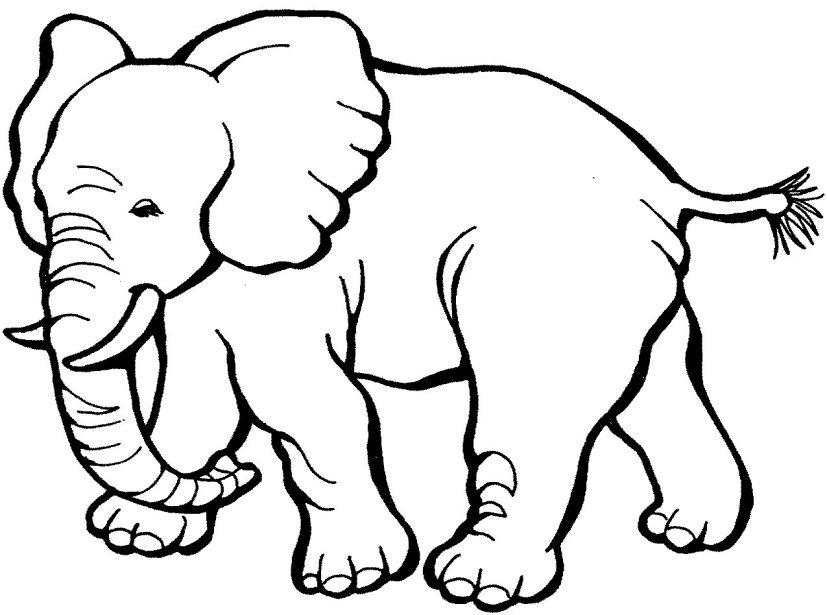 Cartoon Puppy coloring page for kids, animal coloring pages