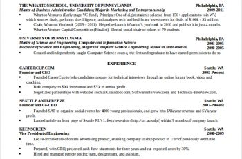 computer science resume computer science student resume