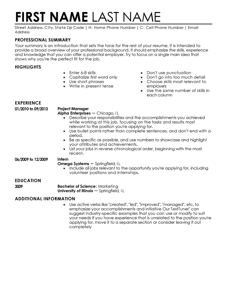 entry level position resume Baskan.idai.co