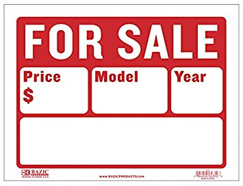 For sale sign Royalty Free Vector Image VectorStock