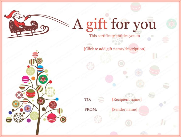 birthday gift certificate template for word gift certificate