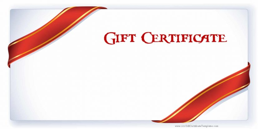 Gift Certificate Templates Download Free Gift Certificates | Square
