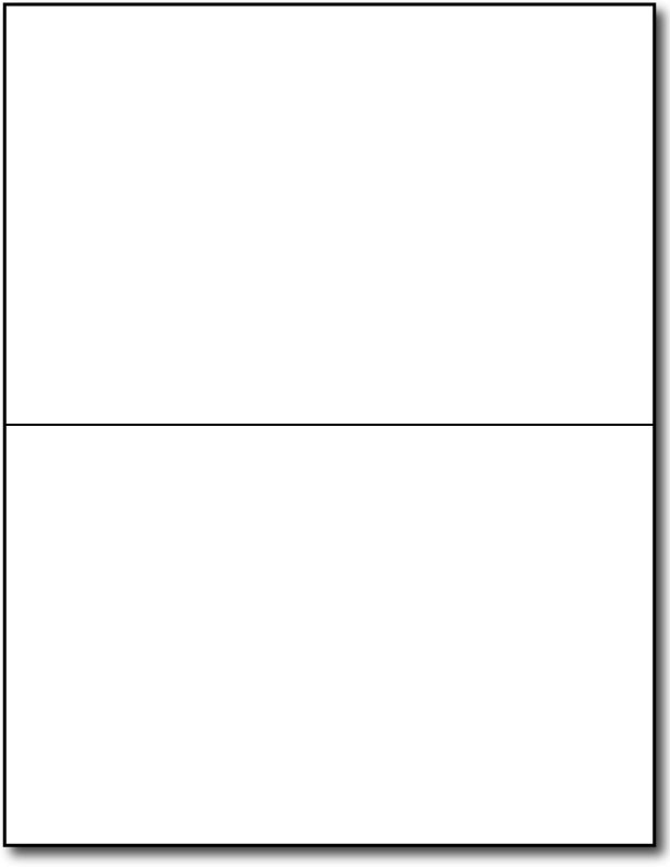 Blank Half Fold Card Template Blank Greeting Card Templates Half