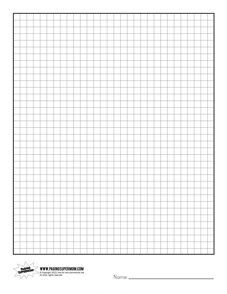 printable grid paper 1 4 inch Baskan.idai.co