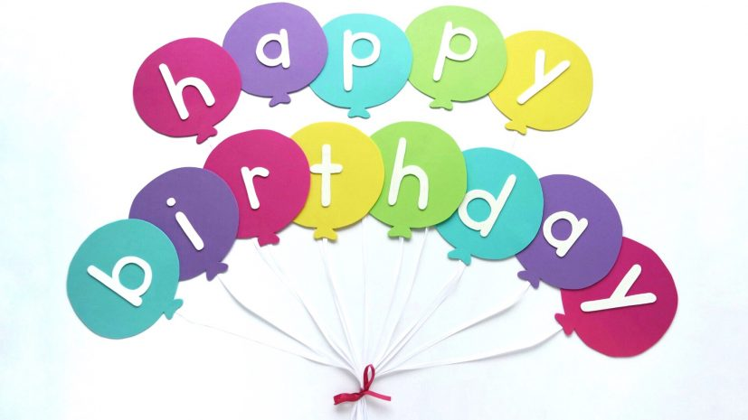 Happy Birthday Banner DIY Template | Balloon Birthday Banner Template