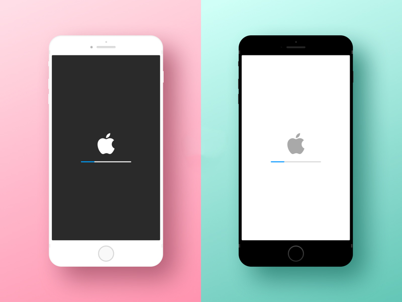 Minimal iPhone Device Mockup Sketch freebie Download free