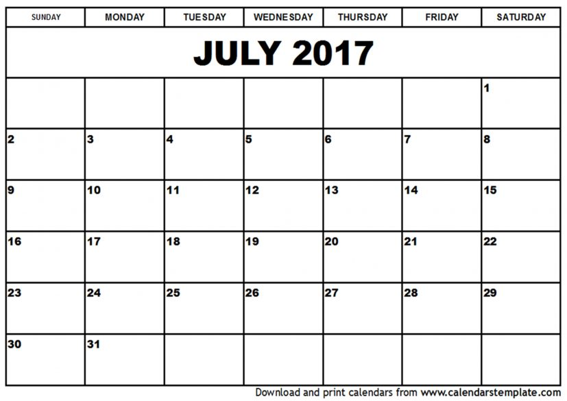 2017 july calendar Coles.thecolossus.co