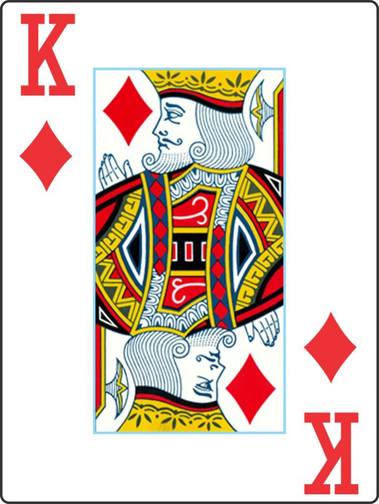 My Playing Cards V2 King of Diamonds by Gabe0530 on DeviantArt