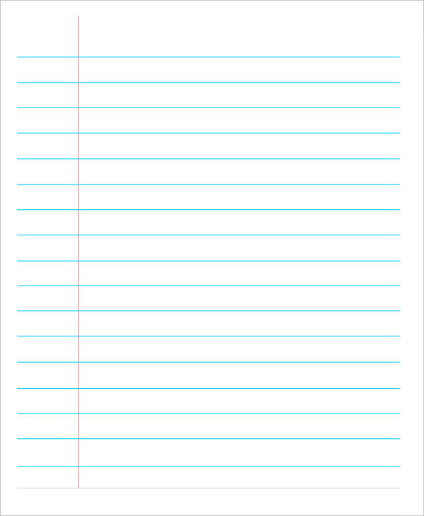 lined paper pdf Ideal.vistalist.co