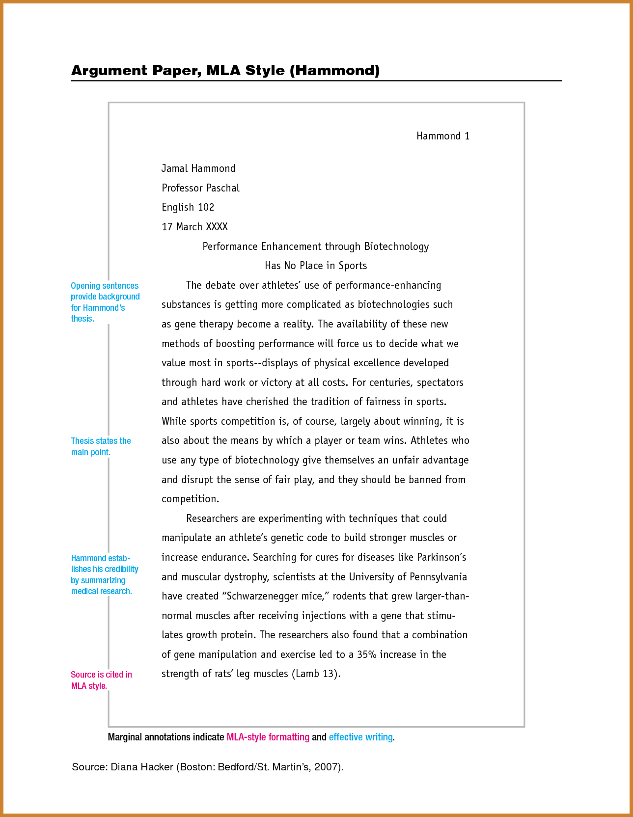 mla formatted essay Ideal.vistalist.co