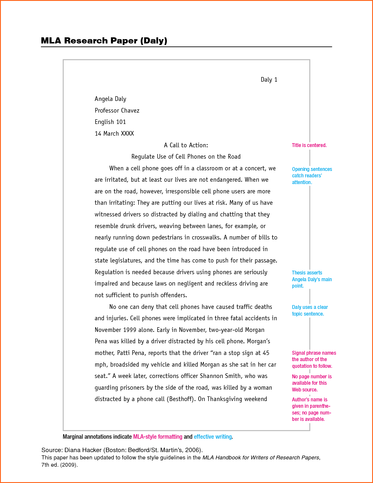 Mla format for books in essay