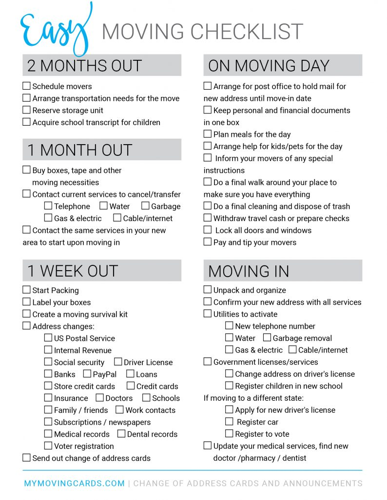 moving in checklist Baskan.idai.co