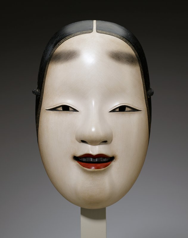 Noh Mask of a Young Woman, Ogura Sōei | Mia