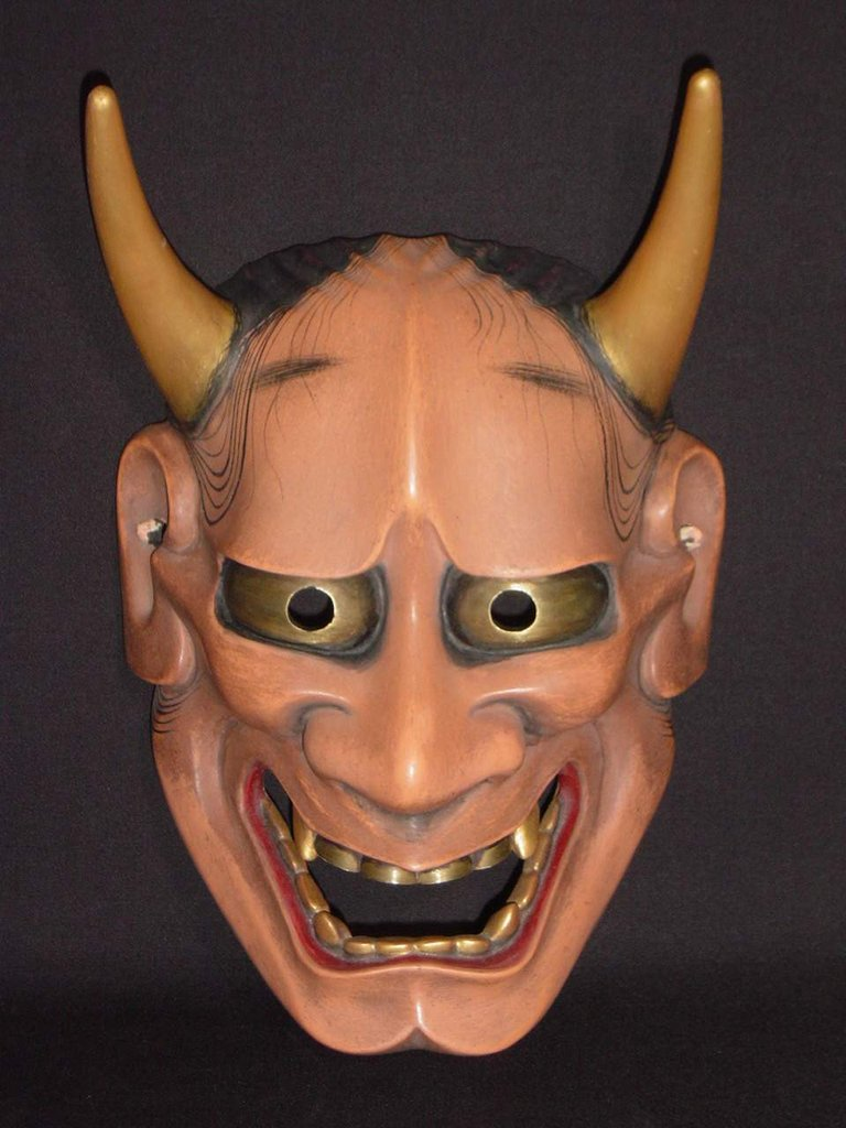 Nohmen (Noh Mask) Red Hannya NOH01R – Taiko Center Online Shop