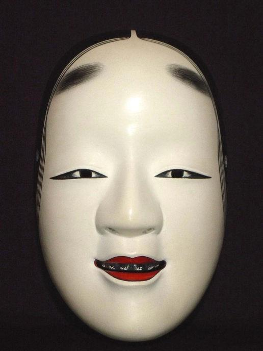 Nohmen (Noh Mask) Magojiro NOH034 – Taiko Center Online Shop