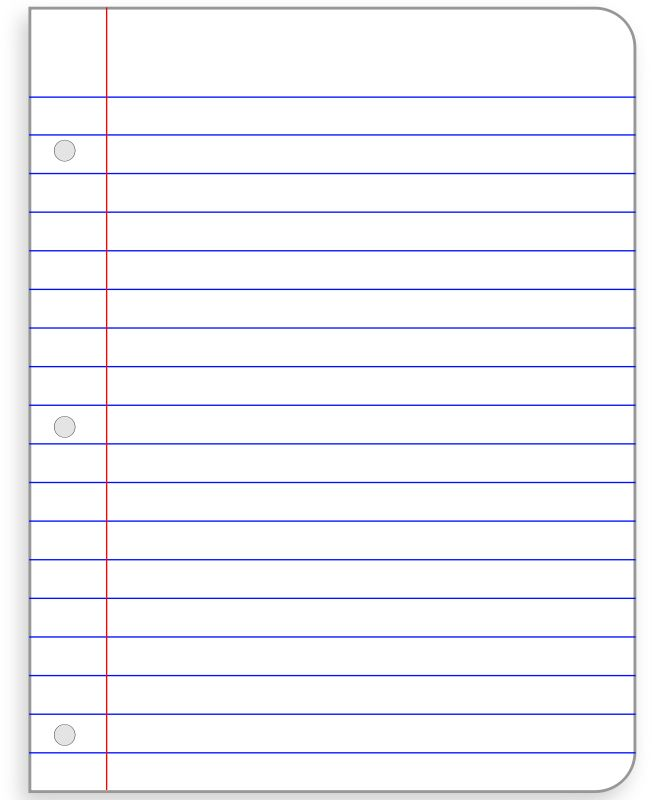 images of notebook paper 41 best notebook paper templates images