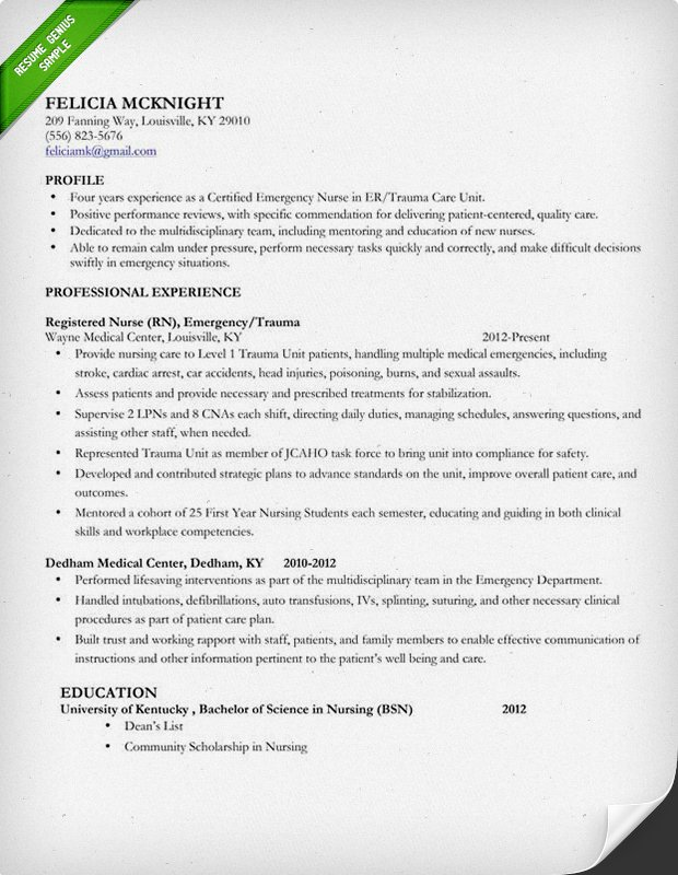 how to write a nursing resume Baskan.idai.co