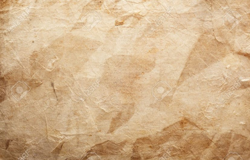 Grunge Vintage Old Paper Background Stock Photo, Picture And