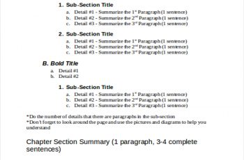 outline example textbook outline example