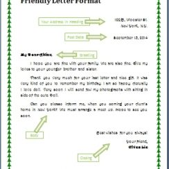 personal letter format collection of solutions personal letter to a friend format of personal letter example to a friend