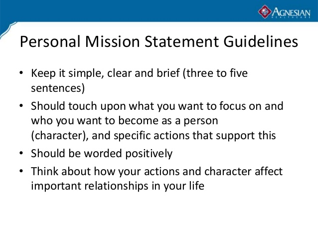 5 Steps To Build A Personal Mission Statement » Leaderonomics.com