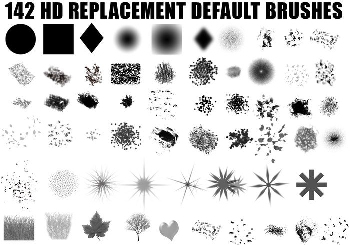 Hi Def Photoshop Brush Set | Free Photoshop Brushes at Brusheezy!